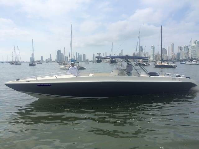 Powerful 41ft speedboat to go in the island !! - Cartagena - Boat
