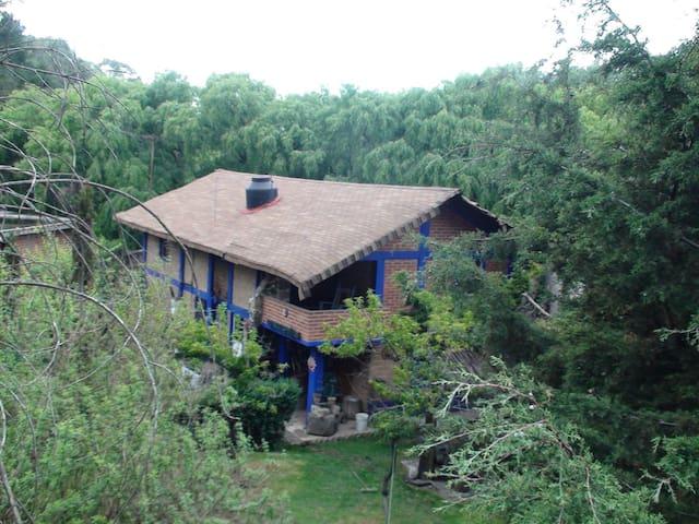 Cabaña para familia o escritor - Almoloya del Río - Casa de campo