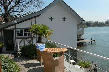 charming little house on the lake - Meilen