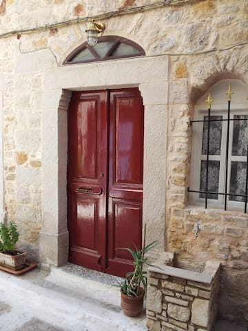 Apartment in medieval village Chios - Kalamoti
