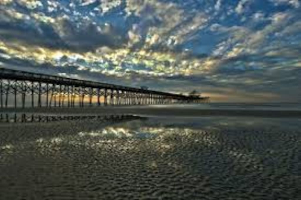 Folly Beach Pier!
