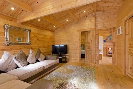Log Cabin - Clonshaugh - Blockhütte