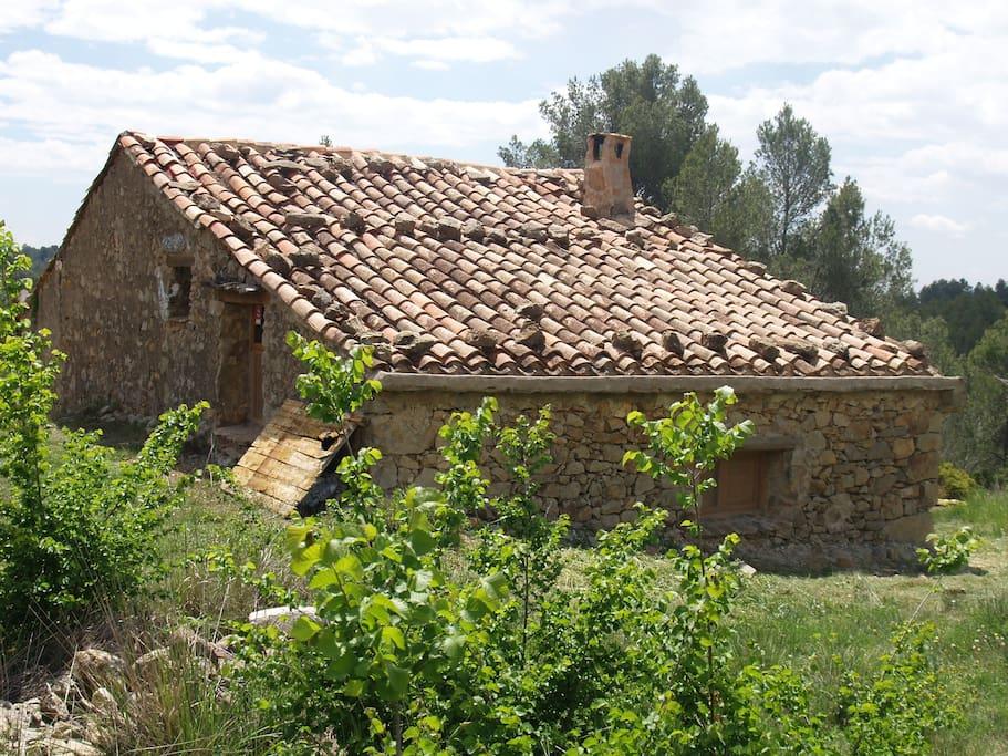 Masia en el interior de castell n naturista maisons - Interior de castellon ...