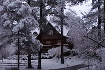 Winter Wonderland escape at Eagles Perch . A Romantic Winter Retreat!