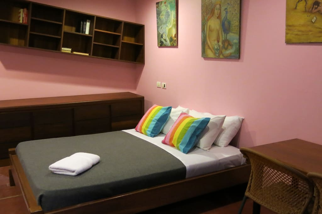 Spacious en-suite and air-conditioned bedrooms