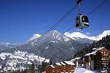 Ski Apartment ideal for winter or summer trip - Saint-Jean-d'Aulps - Huoneisto