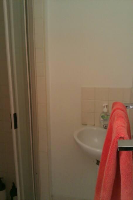 Bathroom, two toilets.