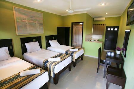 Hotel Turquesa Maya - Hab Triple - Felipe Carrillo Puerto - Muu
