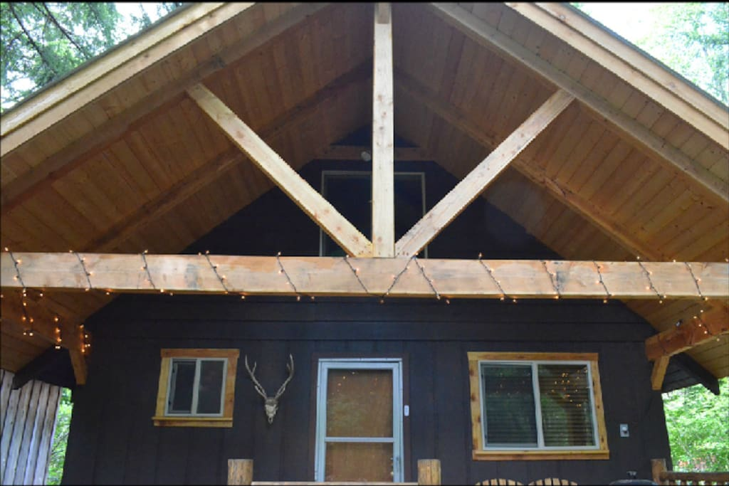 Rainbows end at mt rainier cottages for rent in ashford for Cabins near mt ranier