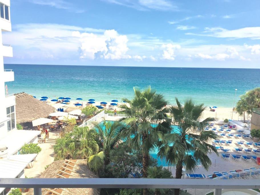 Ocean View Beachfront Hotel Balcony Suite Resorts For