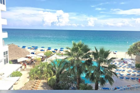 Ocean view beachfront balcony suite - Fort Lauderdale