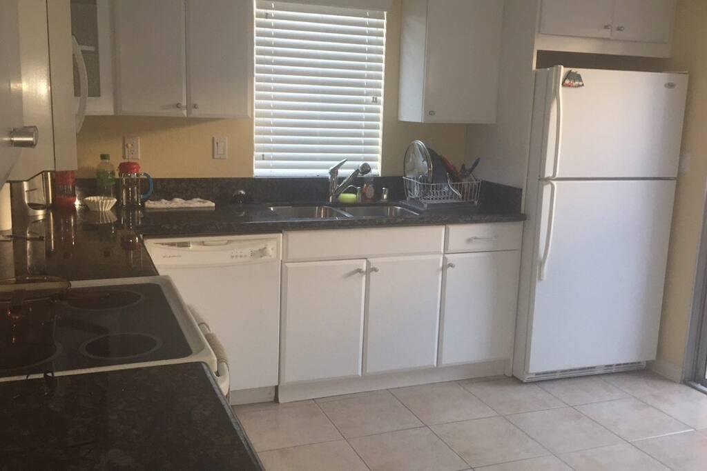 Shared, updated kitchen!