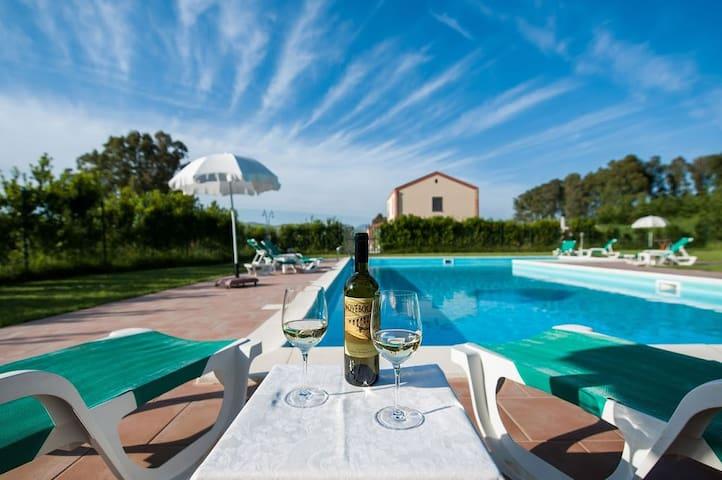 Villa Il Baglio con piscina - Trapani