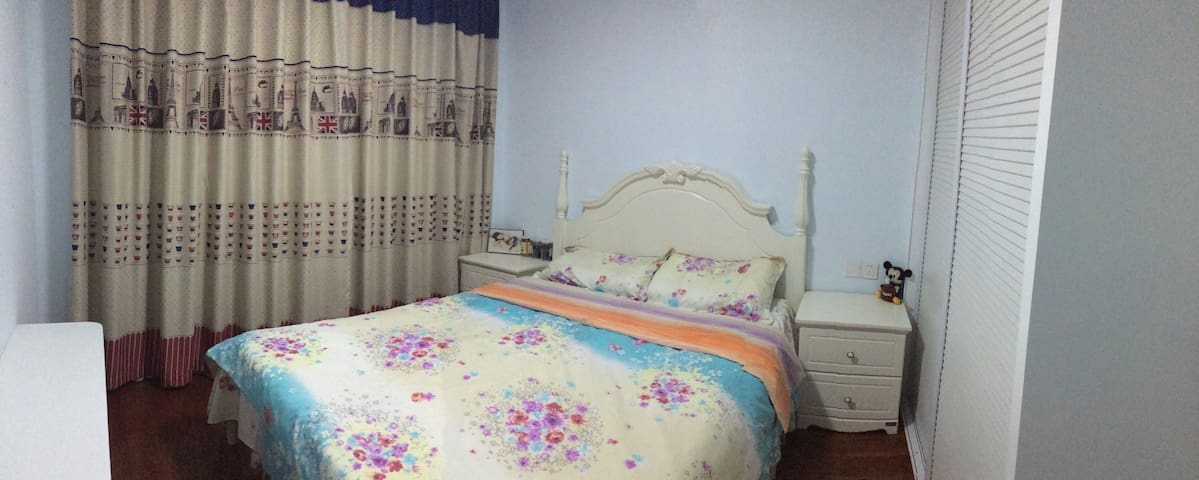 嵊泗岛中心 公寓中的温馨卧房 1.5米韩式大床 - 嵊泗 - Apartamento