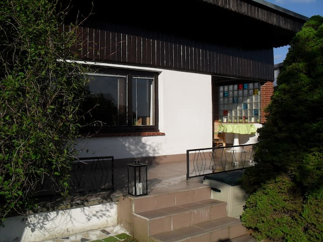 kleines Ferienhaus mit Ruderboot.. - Mustin Mecklenburg Vorpommern