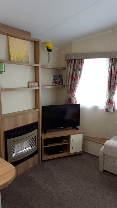 Living room - includes TV and DVD/CD PLayer