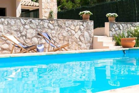 Double, pool&garden BBQ&view Chopin - Valldemossa