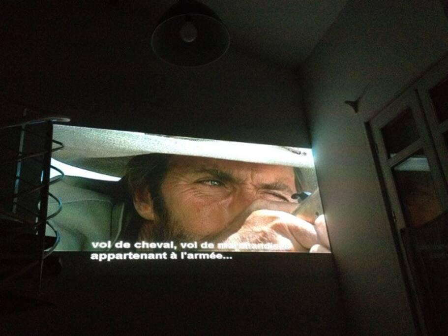 Lehome cinéma    dans le salon