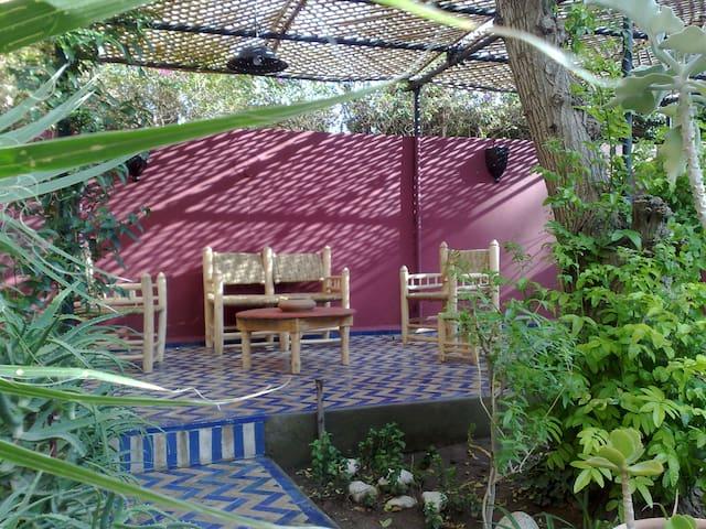 Marrakech la casa del camaleonte - Ouahat Sidi Brahim - Huis