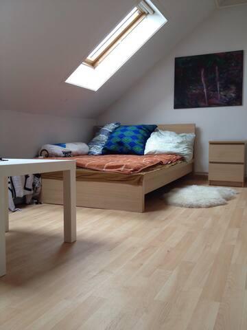 Cozy room in the heart of Frankfurt - Frankfurt am Main - Leilighet