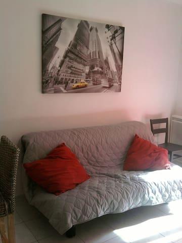 Studio près de la mer Erbalunga - Brando - Lägenhet