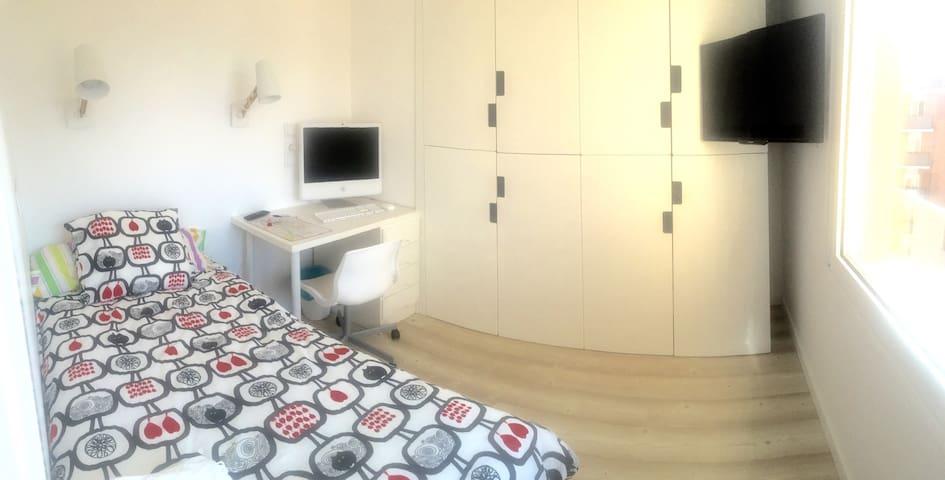 Habitación en el centro muy soleada - Valladolid - Appartement