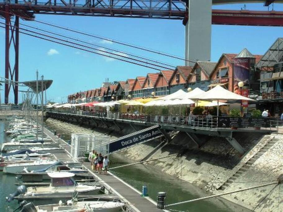 Santo Amaro Dock