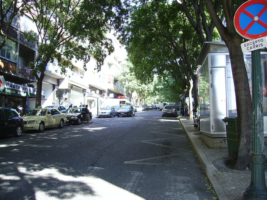 Street Luis de Camões