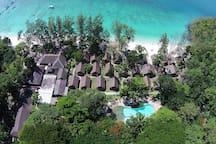 Resort - Bird eye view