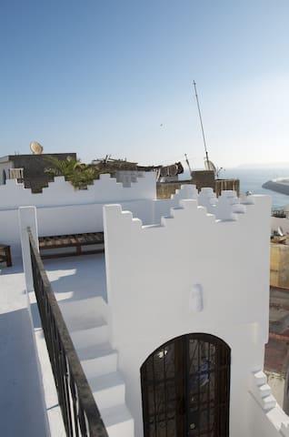 Maa'Zhar, house in Tangier Medina