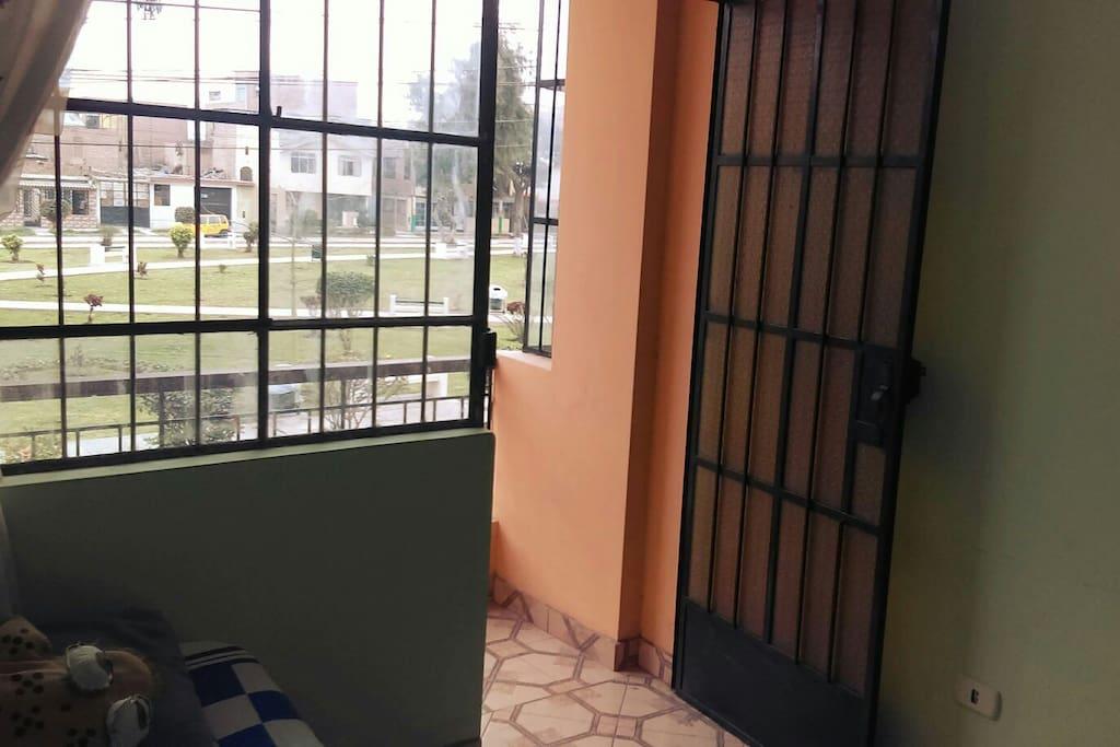 Salida a balcón