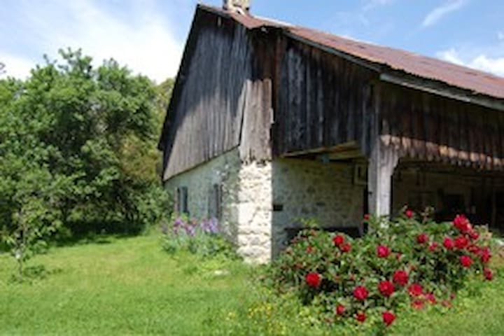 Chalet-ferme pittoresque massif des Brasses, Alpes - Viuz-en-Sallaz - Chatka w górach