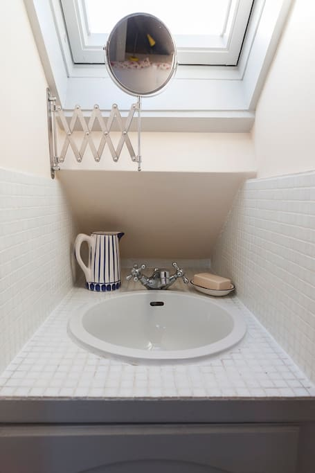 Your own private sink in the room