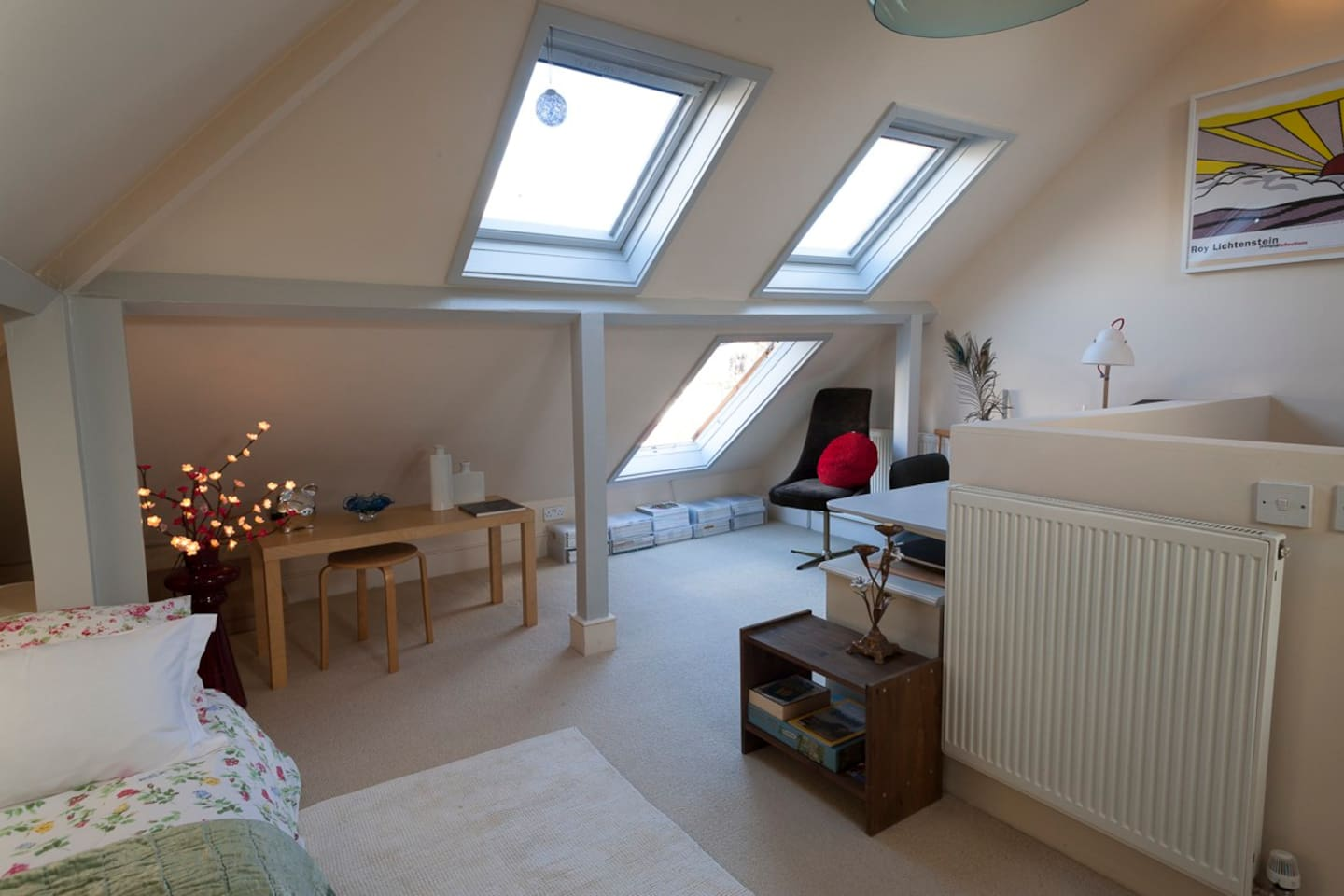 Your loft doble room