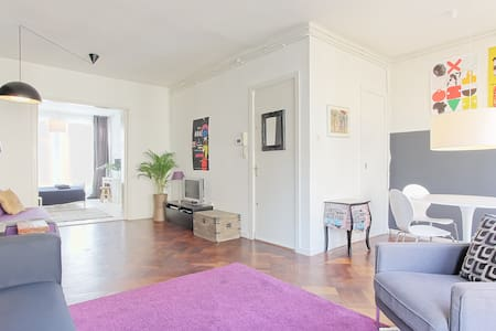 Your home in Amsterdam (Vondelpark) - Ámsterdam - Departamento