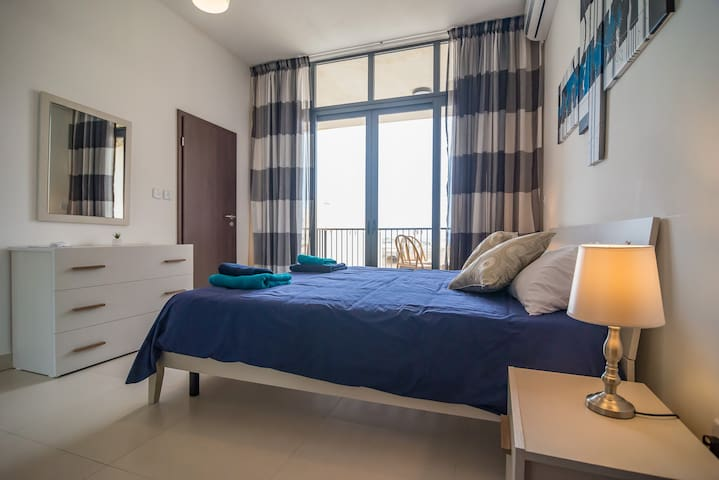 4th Bedroom with en suite bathroom and large terrace