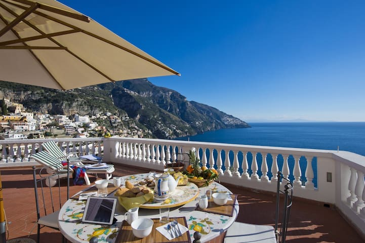Your hilltop oasis in Positano -2 - Positano