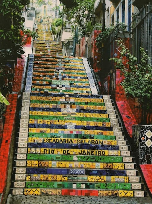 ...and what a street! The Selarón Steps –
