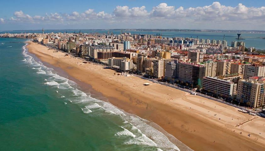 Habitación luminosa - Cádiz - Huis