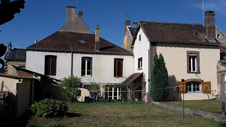 House & garden in Normandy