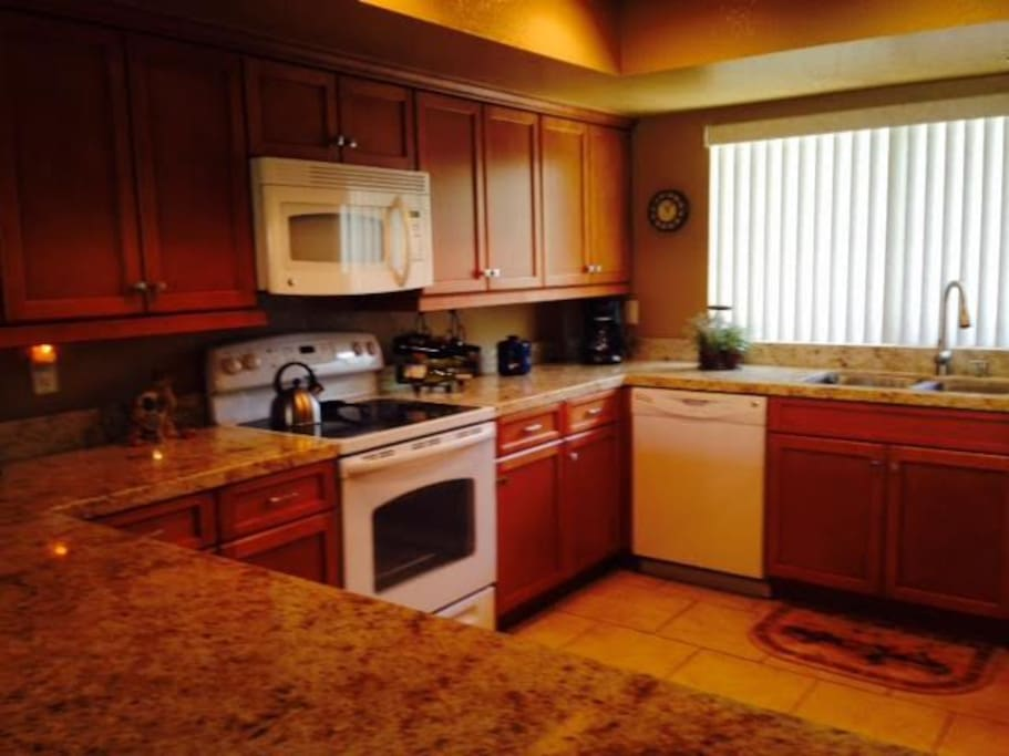 Kitchen was just remodeled 2015.  Granite counter tops.