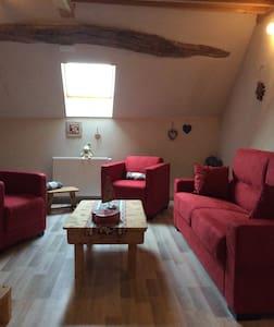 Chambre, salon au cœur du vignoble - Voiteur - Casa