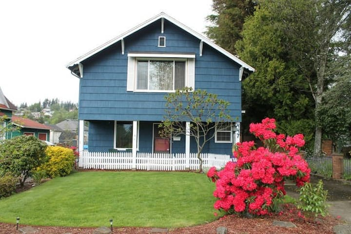 Near the Ocean and Rainforest! Rm2 - Hoquiam - Casa