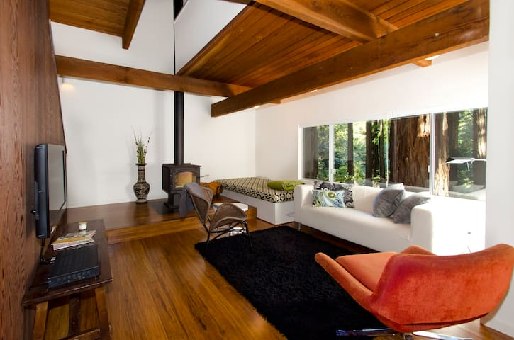 Architect cabin in the Redwoods - Cazadero - Cabaña