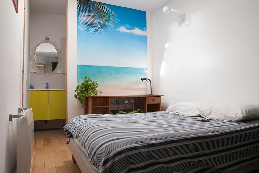 chambre douillette avec douche maisons louer villeurbanne rh ne alpes france. Black Bedroom Furniture Sets. Home Design Ideas
