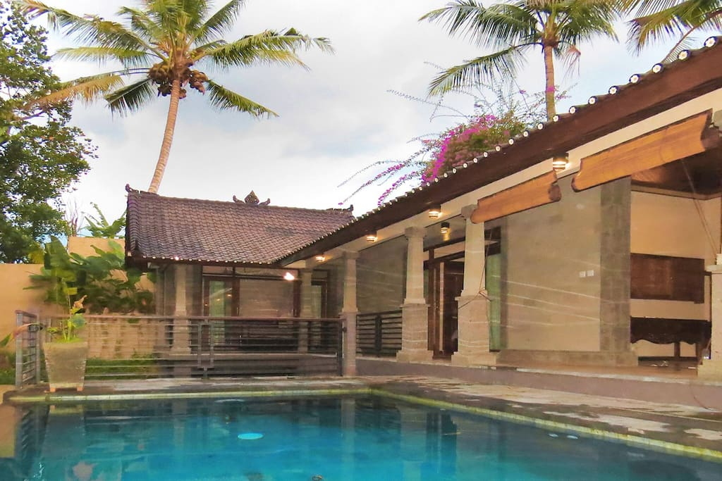 Situated on a remote hillside above the rain forest, the pool...