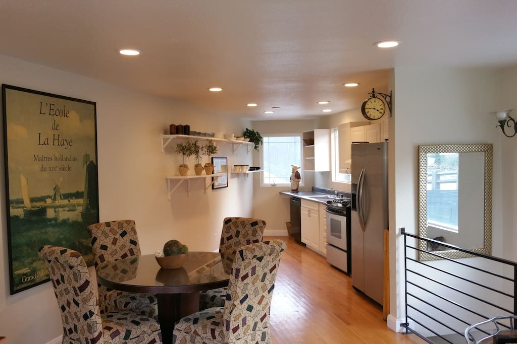 Dining Room & Kitchen area.