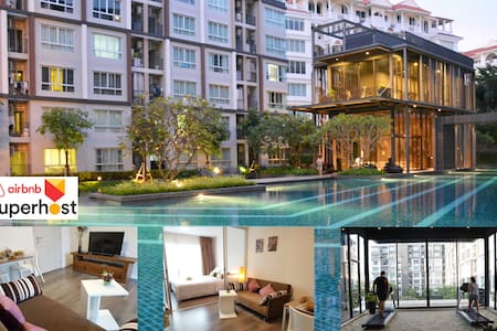Nice-studio Room: Comfort & Safe, Large Pool & Gym