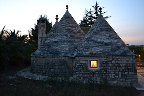 A Trullo among the Cherry Trees