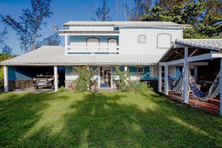 Casa com 6 suites em Praia Seca